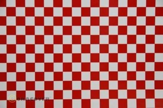Klebefolie Oracover Orastick Fun 4 48-010-023-010 (L x B) 10 m x 60 cm Weiß-Rot