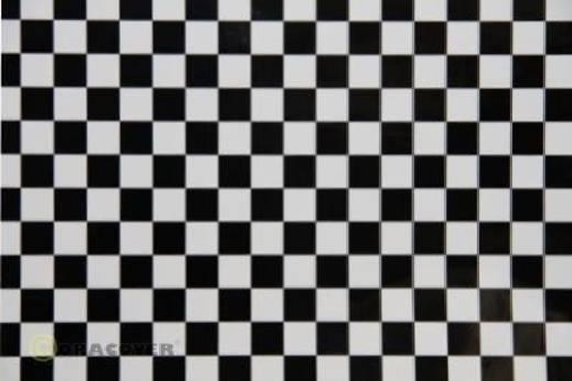 Klebefolie Oracover Orastick Fun 4 48-010-071-010 (L x B) 10 m x 60 cm Weiß-Schwarz