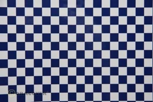 Klebefolie Oracover Orastick Fun 4 48-010-052-010 (L x B) 10 m x 60 cm Weiß-Dunkelblau