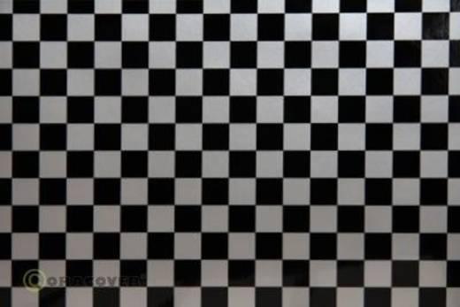 Klebefolie Oracover Orastick Fun 4 48-091-071-002 (L x B) 2 m x 60 cm Silber-Schwarz