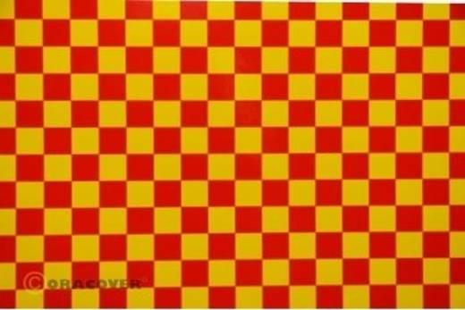 Plotterfolie Oracover Easyplot Fun 4 98-033-023-010 (L x B) 10 m x 30 cm Gelb-Rot