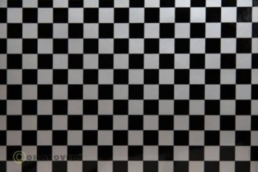 Plotterfolie Oracover Easyplot Fun 4 98-091-071-010 (L x B) 10000 mm x 300 mm Silber-Schwarz