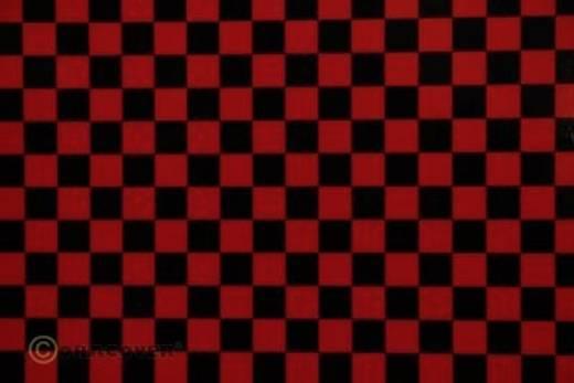 Bügelfolie Oracover Fun 4 44-023-071-002 (L x B) 2 m x 60 cm Rot-Schwarz