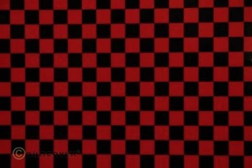 Bügelfolie Oracover Fun 4 44-023-071-010 (L x B) 10 m x 60 cm Rot-Schwarz