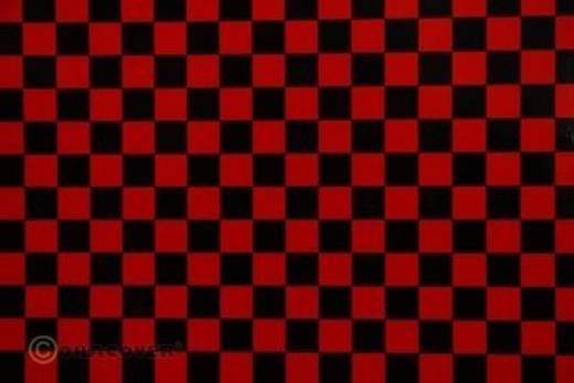 Klebefolie Oracover Orastick Fun 4 48-023-071-010 (L x B) 10 m x 60 cm Rot-Schwarz