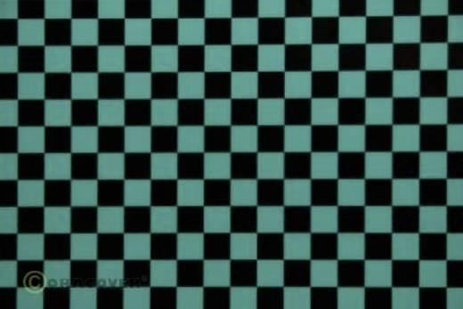 Bügelfolie Oracover Fun 4 44-017-071-002 (L x B) 2 m x 60 cm Türkis-Schwarz