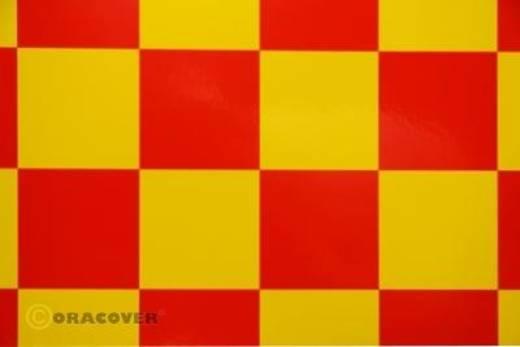Bügelfolie Oracover Fun 5 491-033-023-010 (L x B) 10 m x 60 cm Gelb-Rot