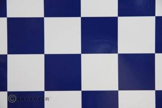 Bügelfolie Oracover Fun 5 491-010-052-002 (L x B) 2 m x 60 cm Weiß-Dunkelblau