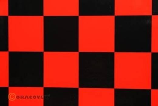 Bügelfolie Oracover Fun 5 491-023-071-010 (L x B) 10 m x 60 cm Rot-Schwarz