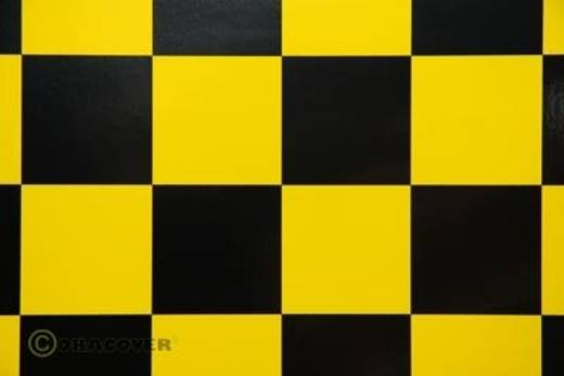 Bügelfolie Oracover Fun 5 491-033-071-010 (L x B) 10 m x 60 cm Gelb-Schwarz
