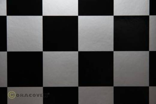 Bügelfolie Oracover Fun 5 491-091-071-002 (L x B) 2000 mm x 600 mm Silber-Schwarz