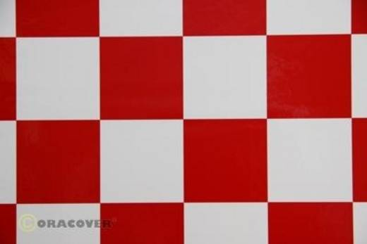 Bügelfolie Oracover Fun 5 491-010-023-002 (L x B) 2 m x 60 cm Weiß-Rot