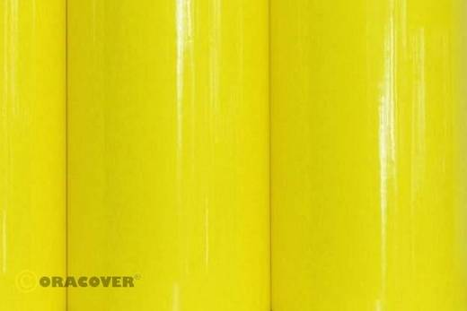 Plotterfolie Oracover Easyplot 80-035-002 (L x B) 2 m x 60 cm Transparent-Gelb (fluoreszierend)