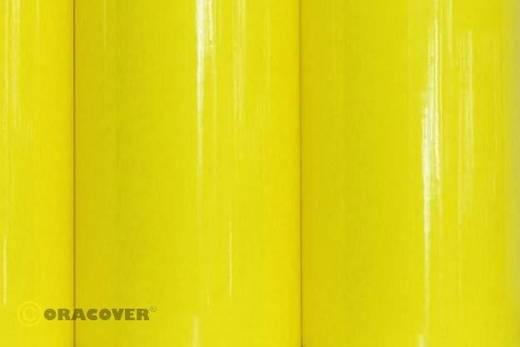 Plotterfolie Oracover Easyplot 83-035-010 (L x B) 10 m x 30 cm Transparent-Gelb (fluoreszierend)