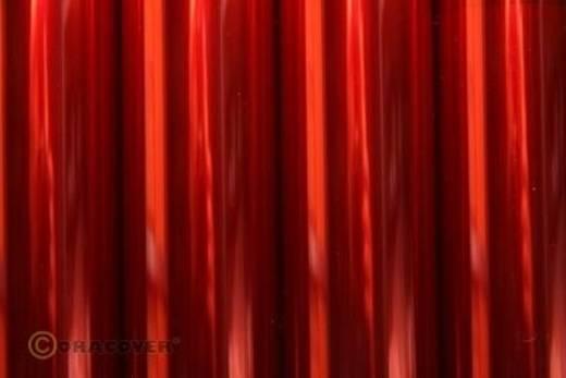 Bügelfolie Oracover Air Indoor 331-029-010 (L x B) 10000 mm x 600 mm Light-Rot (transparent)