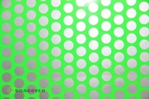 Plotterfolie Oracover Easyplot Fun 1 93-041-091-010 (L x B) 10 m x 30 cm Grün-Silber (fluoreszierend)