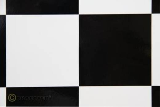 Bügelfolie Oracover Fun 6 691-010-071-002 (L x B) 2 m x 60 cm Weiß-Schwarz