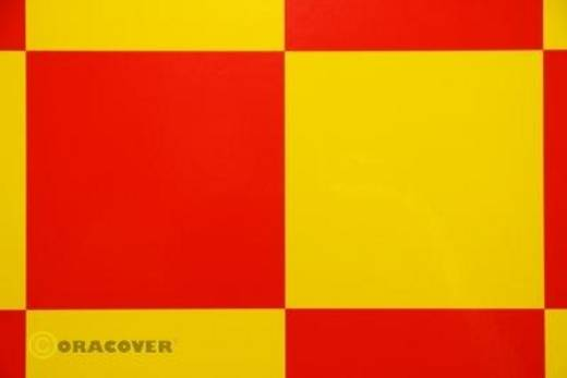 Bügelfolie Oracover Fun 6 691-033-023-002 (L x B) 2 m x 60 cm Gelb-Rot