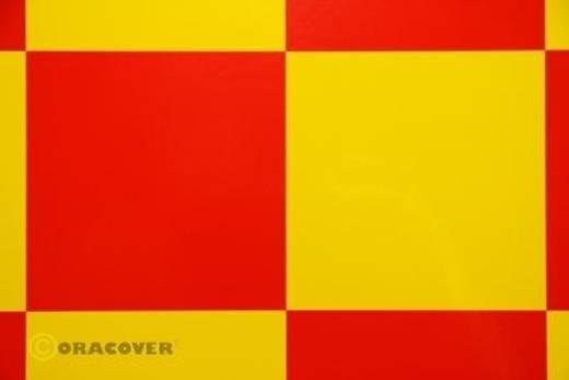 Bügelfolie Oracover Fun 6 691-033-023-010 (L x B) 10 m x 60 cm Gelb-Rot