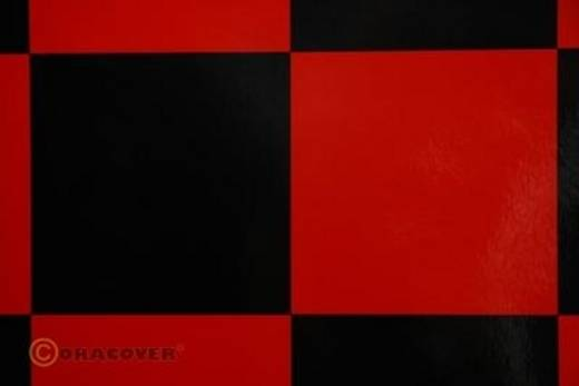 Bügelfolie Oracover Fun 6 691-023-071-002 (L x B) 2000 mm x 600 mm Rot-Schwarz