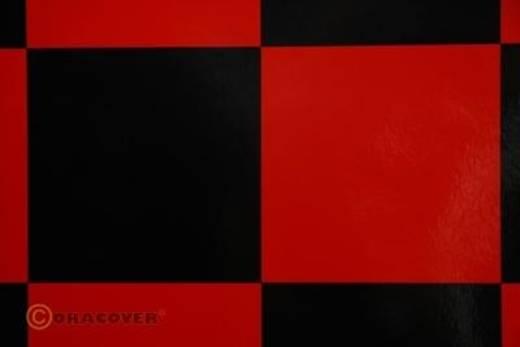 Bügelfolie Oracover Fun 691-023-071-010 (L x B) 10000 mm x 600 mm Rot-Schwarz
