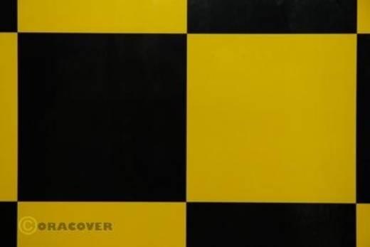Bügelfolie Oracover Fun 691-033-071-010 (L x B) 10000 mm x 600 mm Gelb-Schwarz