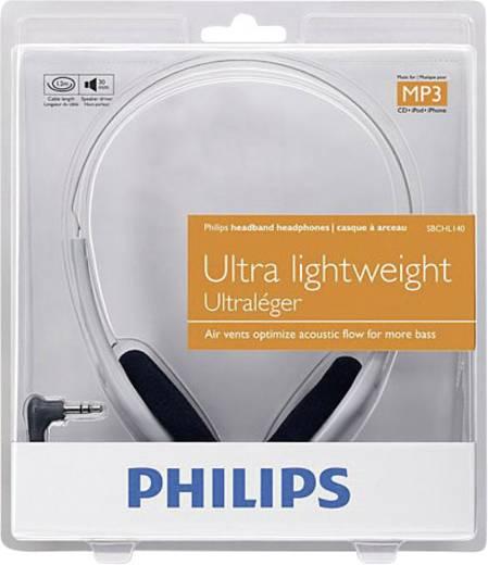 Kopfhörer Philips SBCHL140 On Ear Leichtbügel Grau