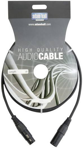 DMX Verbindungskabel [1x XLR-Stecker - 1x XLR-Buchse] 20 m AH Cables KDMX20