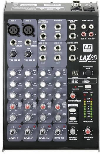 Konsolen-Mischpult LD Systems LAX6D Anzahl Kanäle:6