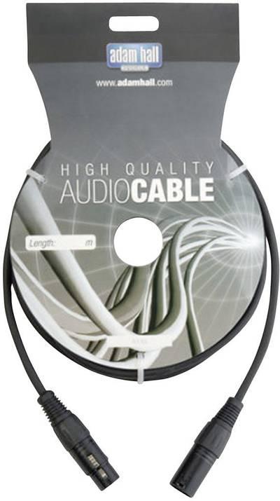 DMX Cavo di collegamento [1x Spina XLR - 1x Presa XLR] 6 m AH Cables KDMX6