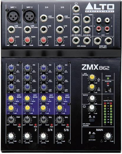 Konsolen-Mischpult Alto ZMX862 Anzahl Kanäle:6