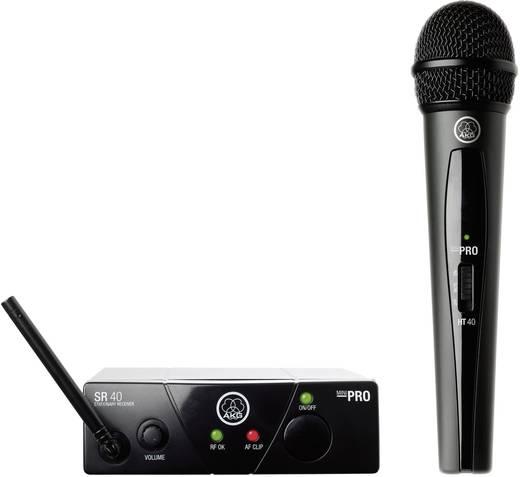 Funkmikrofon-Set AKG WMS40Mini Vocal Set ISM2 Übertragungsart:Funk