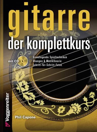 Voggenreiter Buch Gitarre - Der Komplettkurs