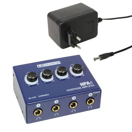 LD Systems LDHPA4 Kopfhörerverstärker Blau