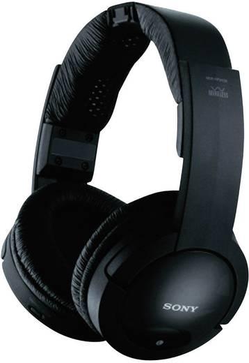 Funk Kopfhörer Sony MDR-RF865RK Over Ear Lautstärkeregelung, Noise Cancelling Schwarz