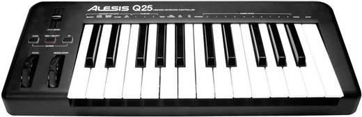 MIDI-Keyboard Alesis Q25 Schwarz