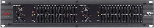 2-Kanal 19 Zoll Equalizer DBX 1215S