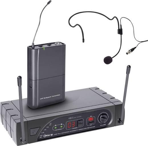 Headset Funkmikrofon-Set LD Systems D1015CM Übertragungsart:Funk inkl. Kabel