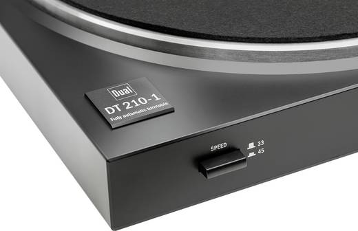 Dual DT 210 USB USB-Plattenspieler Riemenantrieb Schwarz