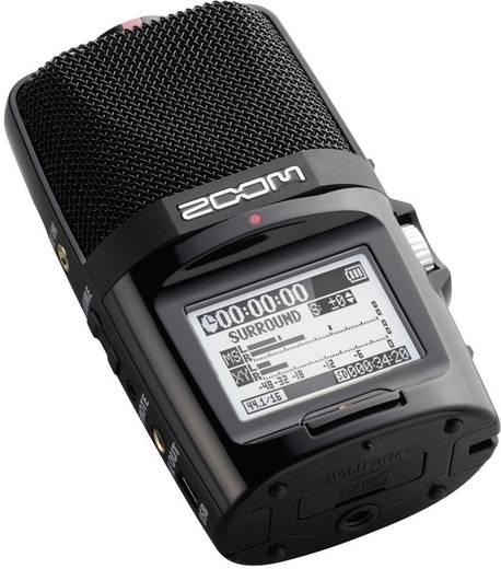 Zoom H2n Mobiler Audio-Recorder Schwarz