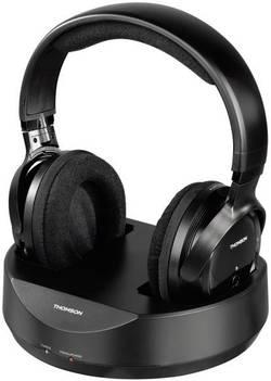 Bezdrátová sluchátka Thomson WHP3777, černá