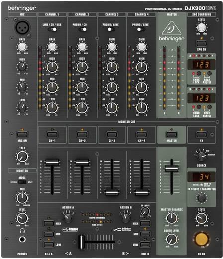 DJ Mixer Behringer DJX-900USB