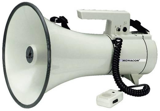 Megaphon Monacor TM-35 mit Handmikrofon, mit Haltegurt, integrierte Sounds
