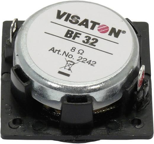 1.3 Zoll 3.2 cm Miniaturlautsprecher Visaton BF 32 2 W 8 Ω