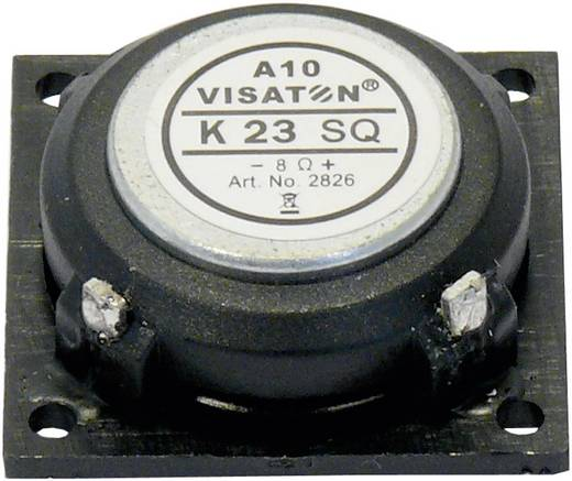 0.9 Zoll 2.3 cm Miniaturlautsprecher Visaton K 23 SQ 8 Ω