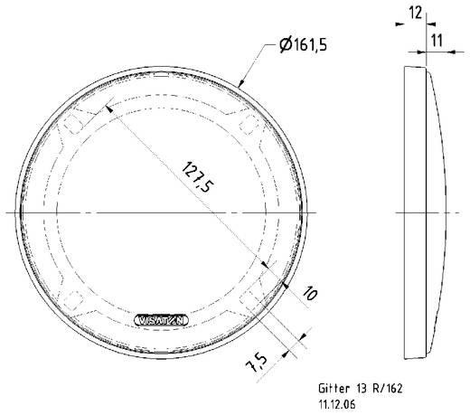 Visaton 13 R/162 Lautsprecher Gitter