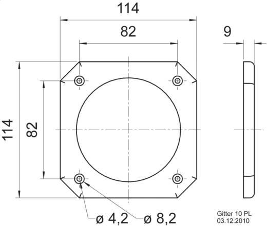 Visaton 10 PL Lautsprecher Schutzgitter