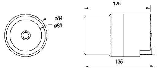 Visaton TL 16 H Hochton-Horn mit Treiber 150 W 8 Ω