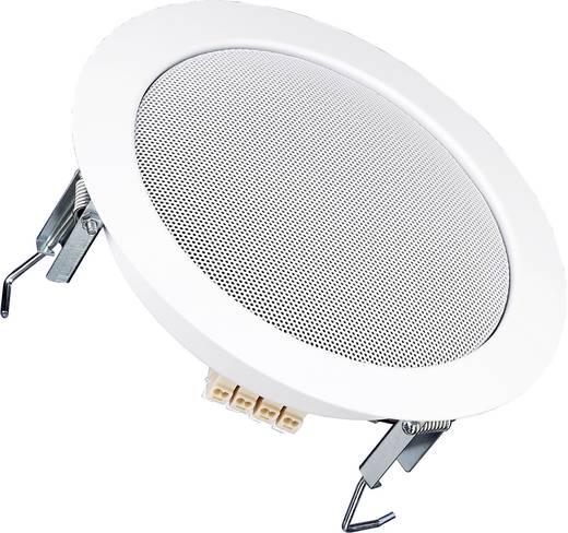 Einbaulautsprecher Visaton DL 18/1 RAL 9010 6 W 100 V Weiß 1 St.