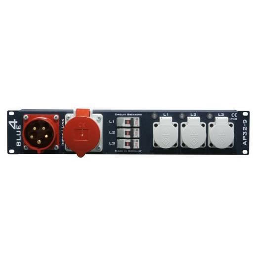 19 Zoll Stromverteiler 9fach 87480 2 HE